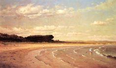 Second Beach, Newport by Thomas Worthington Whittredge