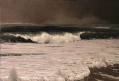 """Saatchi Art Artist Edward Minoff; Painting, """"Poseidon's Fury"""" #art"""