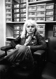 Debbie Harry, cool as always