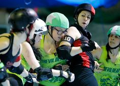 All the excitement about one of the fastest-growing sports in the world masks the fact that roller derby now stands at a crossroads, torn between going mainstream or remaining true to its punk rock… Roller Derby Skates, World Of Sports, Espn, Fishnet, Derby News, Punk Rock, Strong Women, Skating, Diy Fashion