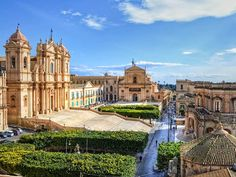 "Noto (Sicily - Italy). Known as the ""capital of Baroque"", in 2002 its historic center was declared World Heritage by UNESCO."