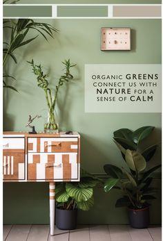 Farro & Ball's Key Colours for 2015 Walls: Breakfast Room Green, Skirting: Calke Green, Floor: Light Gray.)