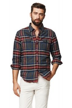 GANT Mens Shirts - New arrivals in store and online. Premium quality shirts that reflect your sense of style. Shop now. Casual Wear, Men Casual, Iron Shirt, Wardrobes, Fashion Men, Shirt Outfit, Shop Now, Menswear, Plaid