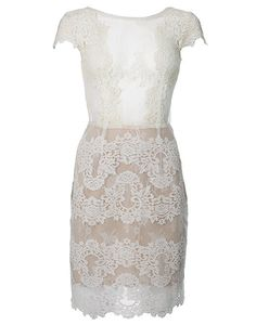 Ida Sjostedt - Faith Dress Ivory