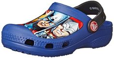 Crocs CC Marvel Avengers III Clog, Jungen Clogs, Blau (Cerulean Blue 4O5), 19/21 EU - http://on-line-kaufen.de/crocs/19-21-eu-crocs-cc-marvel-avengers-iii-jungen-clogs-2