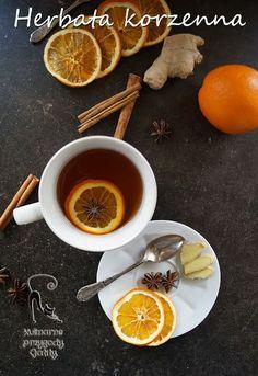 Zimowa herbata korzenna | Kulinarne przygody Gatity - przepisy pełne smaku Dessert Recipes, Desserts, Chocolate Fondue, Sweet Tooth, Sweets, Cheese, Meals, Ethnic Recipes, Food