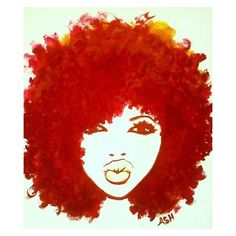 The gallery for --> African American Women With Afro Art Natural Hair Art, Pelo Natural, Natural Hair Styles, Natural Hair Quotes, Natural Beauty, Pure Beauty, Art Afro Au Naturel, Afro Painting, Music Painting