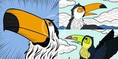 Burung Tukan (Comic)