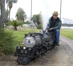 bigboy+steam+locomotive+model+trains | Live steaming with the UP 4-6-6-4 Challenger