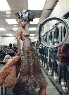 Lady Gaga by Annie Leibovitz