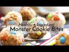Healthy Monster Cookie Bites (with Video) - Evolving Table