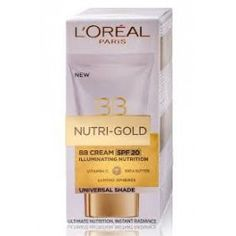Loreal Nutri-Gold BB cream SPF20 Universal Shade, 40ml Lovely Perfume, My Beauty, Loreal, Bb, Make Up, Personal Care, Cosmetics, Gold, Self Care