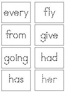 AMAZING sight word activities and FREE flashcards! :D