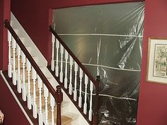 11 Tutorial For Stair Makeover, Carpeted To Wooden, By Cleverly Inspired, Featured On Remodelaholic Carpet Staircase, Staircase Remodel, Grand Staircase, Staircase Design, Staircase Runner, Stair Railing, Traditional Staircase, Staircase Makeover, Redo Stairs