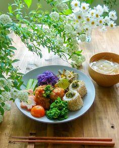 ワンプレート ランチ 和食 B Food, Cafe Food, Japanese Food, Lunch, Easy, Drinks, Drinking, Beverages, Eat Lunch
