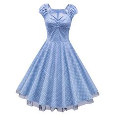 SHARE & Get it FREE | Polka Dot Lace Insert Swing DressFor Fashion Lovers only:80,000+ Items·FREE SHIPPING Join Dresslily: Get YOUR $50 NOW!