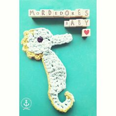 Sea Horse Teether for Babys