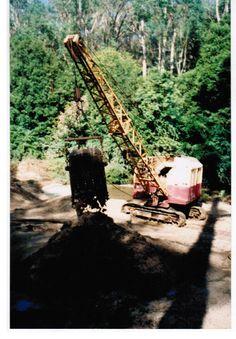 Earth Moving Equipment, Bucyrus Erie, Construction Machines, Big Time, Heavy Equipment, Crane, Tractors, Transportation, Australia