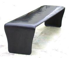 Eric Schmitt - black bronze - trina this bench is awesome.  Guha likes it.