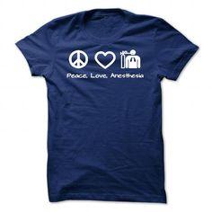 Peace, Love, Anesthesia - #hoodie womens #sweatshirt women. ORDER HERE => https://www.sunfrog.com/Jobs/Peace-Love-Anesthesia.html?68278