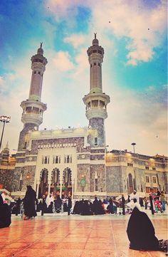 Entrance to al-Masjid al-Haram