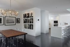"""Bucktown Three House by Studio Dwell Architects  Perfect 3x3 black & white """"thought leader"""" portrait gallery"""