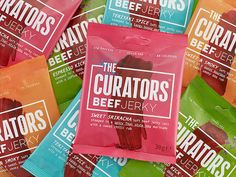 These Unique Meat Snacks Were Made With Foodies In Mind – Comida: mesas vegetarianas Healthy Eating Tips, Healthy Nutrition, Snack Brands, Beef Jerky, Vegetable Drinks, Food Trends, New Flavour, Packaging Design Inspiration, Branding Design