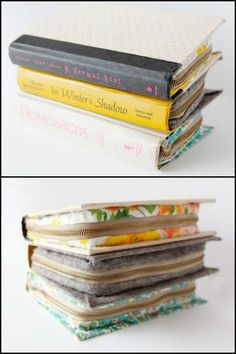 Learn How to Turn a Hardbound Book Into a Stylish Clutch With Zipper