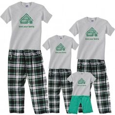 e52099ce1b 16 Best Personalized Christmas Pajamas images
