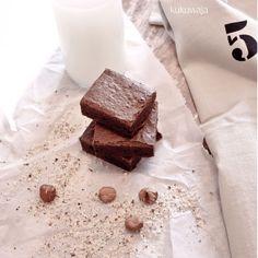 Homemade Brownies http://kukuwaja.blogspot.de/2014/10/homemade-brownies-inkl-rezept-und.html
