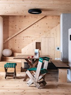 Chalet d'artiste dans les Dolomites Home Interior Design, Interior Styling, Interior Architecture, Interior And Exterior, Forest House, Cabin Interiors, House Rooms, Interior Inspiration, Living Spaces