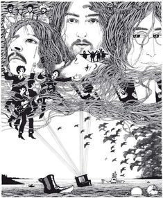 Klaus Voormanns Art For The Cover Of The Beatles  Album Revolver And A