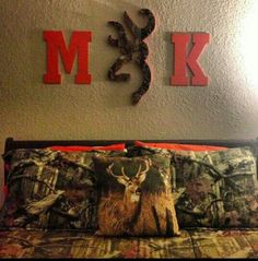 Country couple room. This'd be super cute in our future apartment