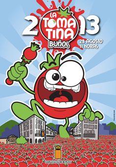 Cartel oficial de La Tomatina de Buñol 2013