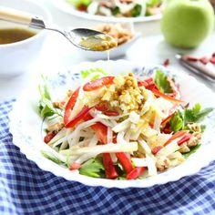 Apple and Kohlrabi Salad
