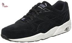 Puma R698 Allover, Baskets Basses Mixte Adulte, Noir (Black/White/Black), 38 EU - Chaussures puma (*Partner-Link)