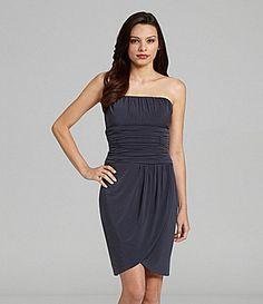 Calvin Klein Strapless Cocktail Dress | Dillards.com