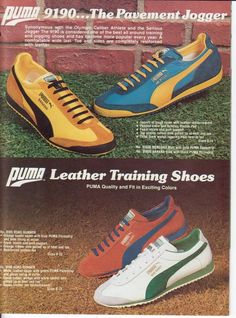 Nike / Puma / Adidas Catalogue Pics...1970s. 80's. | Sole Collector Forums