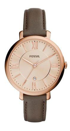 Back to basics. | Fossil Jacqueline watch