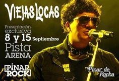 Domingo 8 y 15 de Septiembre - VIEJAS LOCAS - Pinar de Rocha #TodoPasaxPinar