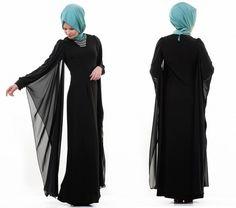 Tesettür Model Siyah Elbise,Siyah Elbise Alınırken Nelere Dikkat Edilmeli?