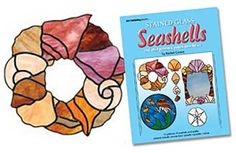 stained glass seashell wreath - Google Search