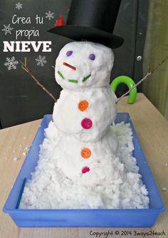 crea tu propia nieve.