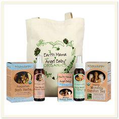Postpartum Recovery Essentials Bundle #EarthMama