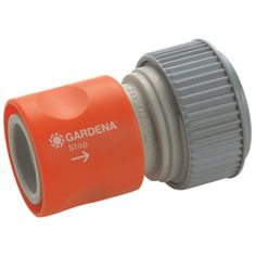 """Raccordo """"Acqua-stop"""" per tubo da 19 mm (3/4"""") e 16 mm (5/8"""") in Blister #GARDENA modello 8169-20 #giardinaggio #hobby #giardini #faidate"""