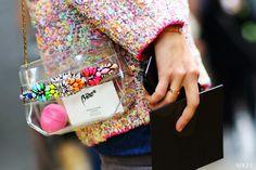 Neon purse