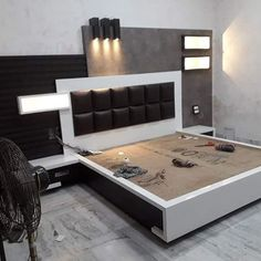 Luxury Bedding Sets On Sale Wardrobe Design Bedroom, Bedroom Cupboard Designs, Luxury Bedroom Design, Bedroom Bed Design, Bedroom Furniture Design, Bed Furniture, Living Room Designs, Modular Furniture, Box Bed Design