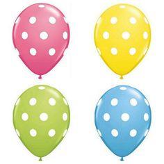 "11"" Polka Dot Balloo"