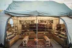 Toms takes to a pop-up… tent?! #Retail #Design #TomsShoes