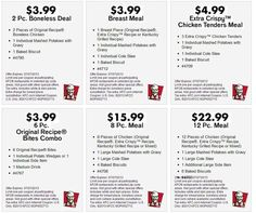 picture regarding Kfc Coupons Printable identified as 21 Great KFC Printable Discount codes pics inside 2013 Kfc coupon codes